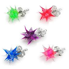5. Crystal Jewelry Silicone Earrings